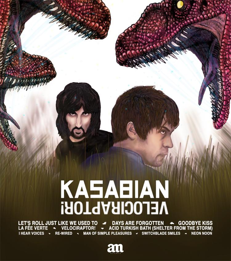 KASABIAN / Velociraptor!