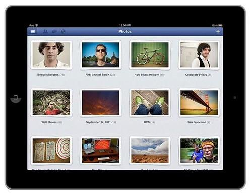 iPad facebook 1