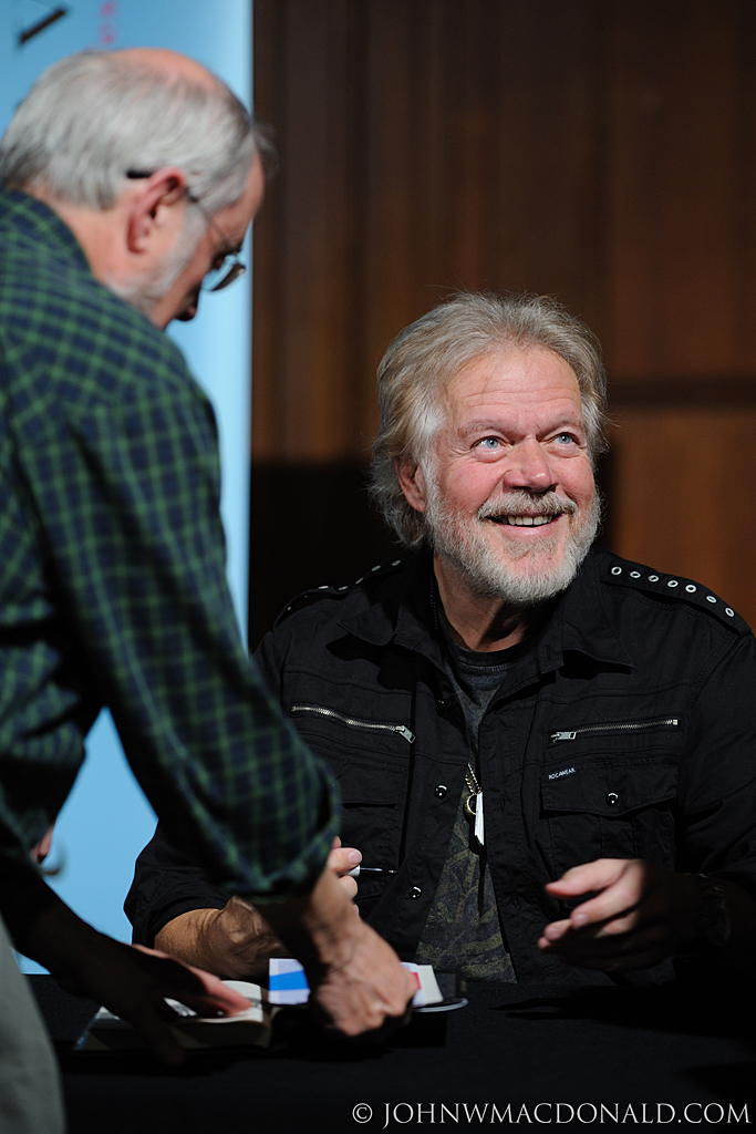 Randy Bachman signing books