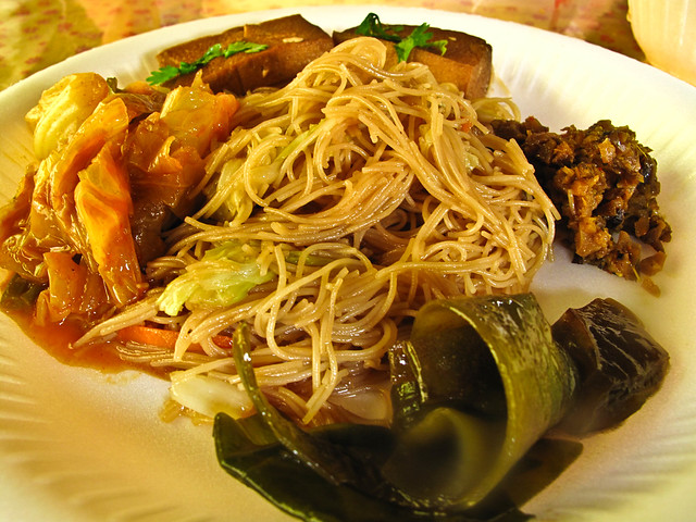 IMG_1740 Vegetarian Beehoon , 素炒米粉