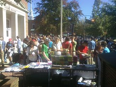 #occupyCHC is in full swing at Chapel Hill's Peace & Justice Plaza.