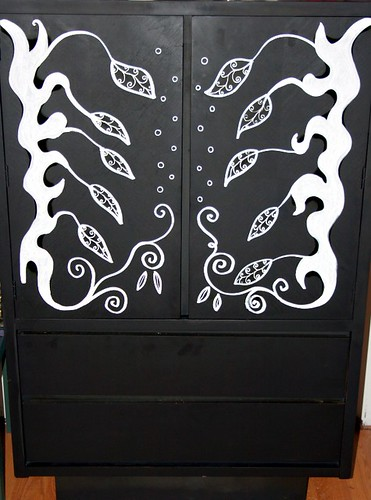 Dresser/Armoire  by Rick Cheadle Art and Designs