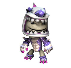 invizimals Shadow Zone Costumes: Metal mutt