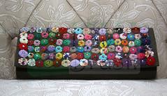 LB 0509 (Loja do Brasil) Tags: flores artesanal bio carteira mao fuxico bolsa eco marrom tecido brim bolsademao couromiçangas