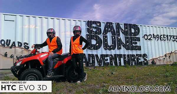 Sand Dune Adventures rock! Do check out their websites to check out the tours they offer