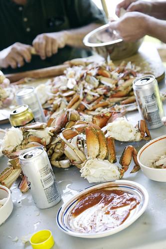 crab feast.