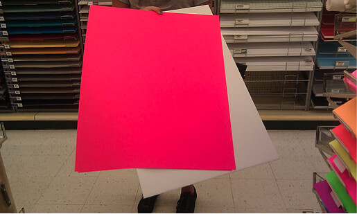 How to paint poster board