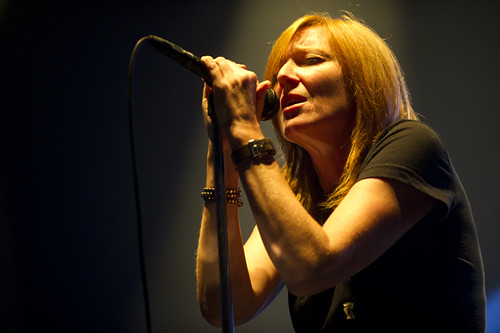 Portishead at the Shrine Auditorium 10/18/11 (Beth Gibbons)