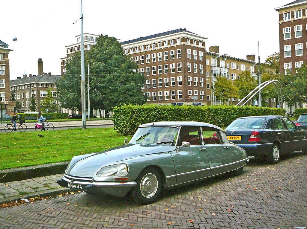 Citroën DS 21, 1968, Amsterdam, Minervaplein, 09-2010