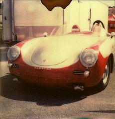 (tobysx70) Tags: california ca red toby color slr reunion silver project polaroid convertible super salinas tip porsche shade laguna hancock mazda seca 70 iv 90 slr680 680 impossible raceway 356 px rennsport colorshade px70 theimpossibleproject tobyhancock impossaroid