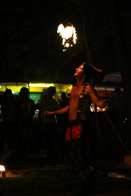 Fire Juggler, Mindil Beach Markets, Darwin, Northern Territory