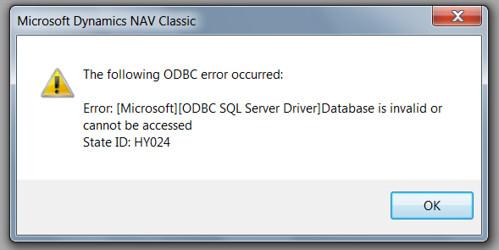 Upload License File - Database is invalid error