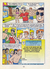 """Archie All Canadian Digest #1, August 1996 - page 95, third page of """"Epilogue"""" (Gary Dunaier) Tags: canada comics betty veronica comicbooks archie jughead"""