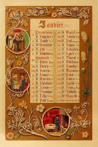 001-Santoral de Enero-Les évangiles des dimanches et fêtes de l'année –Vol 1- 1864- Leon Curmer