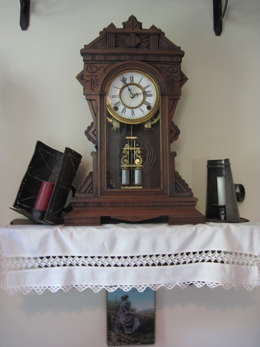 Clayson House kitchen clock