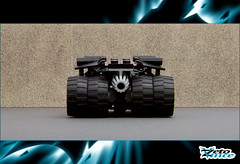Tumbler (ZetoVince) Tags: car dark greek batcave lego vince batman vehicle knight batmobile tumbler zeto zetovince dreamdealer