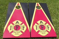 Fire Rescue & EMS Cornhole Sets
