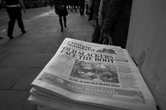 old slackers... (Paul Steptoe Riley) Tags: newspaper headline discrimination ageism