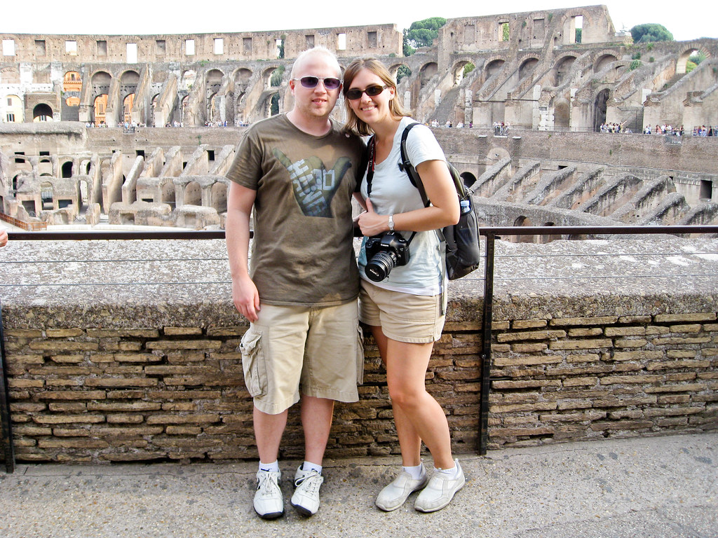 Patrick and I at Colloseum