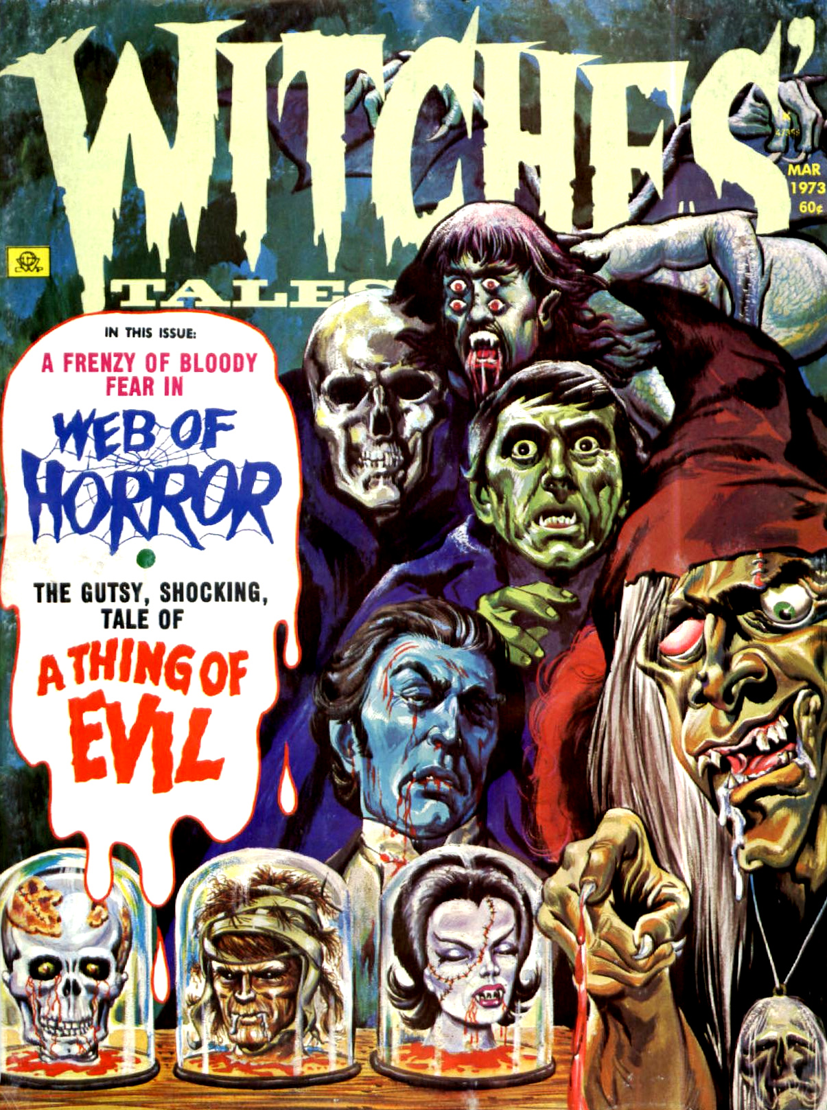 Witches' Tales Vol. 5 #2 (Eerie Publications 1973)