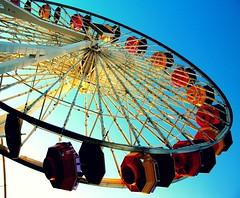 (zarahi betsabe) Tags: santa wheel pier monica santamonicapier