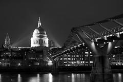 Iconic Millenium Bridge, London (Jonathan.Russell) Tags: