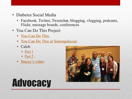 Diabetes Advocacy