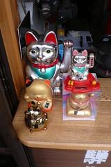 Chats porte-bonheur au Japon (Partir en Voyages) Tags: chats chat japon japonais portebonheur chatportebonheur