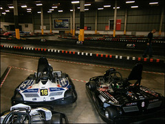 Go kart and track