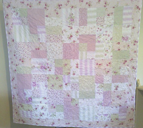Roses Quilt by Duck Tales