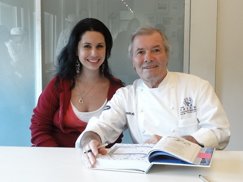 Chef Jacques Pepin Book Signing