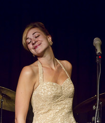 Jill Barber @ The Gibson Center (Rock Steady Images) Tags: music ontario canada canon eos concert 7d handheld 200views 50views topaz jillbarber canon50mmf14 25views bypaulchambers photoshopcs4 rocksteadyimages