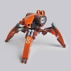 Hayaku V7 - Recon Runner (Fredoichi) Tags: robot lego space military walker micro mecha mech multiped microscale fredoichi