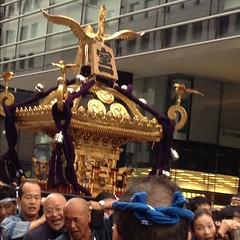 室町の御神輿@日本橋100年祭 神輿は続きます