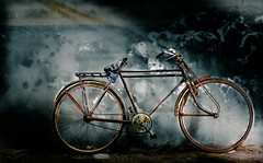 Rust.... (ronipothead) Tags: old light color history texture bike bicycle night vintage dark nikon rust asia afternoon outdoor oldphoto groove 1001nights bangladesh d90 lightcolor flickraward texturephoto 100commentgroup flickraward5 texturebased artistoftheyearlevel2