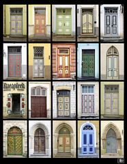 Le porte di Tallinn / The doors of Tallinn (Fil.ippo) Tags: collage tallinn estonia doors porte eesti
