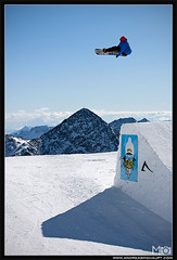 MO__7049_ps_web (Andreas Mohaupt I Photographer) Tags: november sun fall sport clouds fun austria autum extreme bluesky glacier snowboard opening tyrol method funpark 2011 stubaiergletscher backsideair abor backside540 romesds wwwandreasmohauptcom stubaizoo