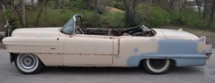 "1956 Series 62 Red Convertible Cadillac restoration • <a style=""font-size:0.8em;"" href=""http://www.flickr.com/photos/85572005@N00/6303504688/"" target=""_blank"">View on Flickr</a>"
