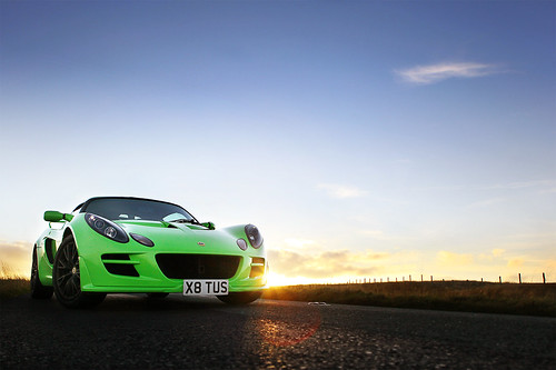 Exige in Yorkshire