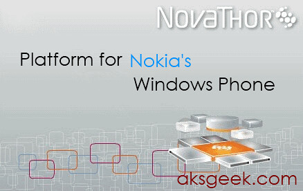 NovaThor powering Nokia's Windows Phone