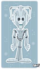 """Rise Of The Cybermen"" Cyberman (bob canada) Tags: canada monster illustration computer painting humorous drawing cartoon bob doctorwho bbc comicbook illustrator cyborg tardis creature cyberman cybermen bobcanada"