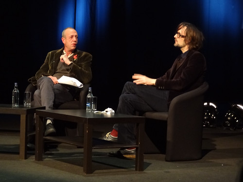 Arthur Smith and Jarvis Cocker
