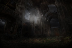 Norwich Cathedral (P Chamberlain) Tags: composite photoshop cathedral norfolk apocalypse norwich doomsday mattepainting