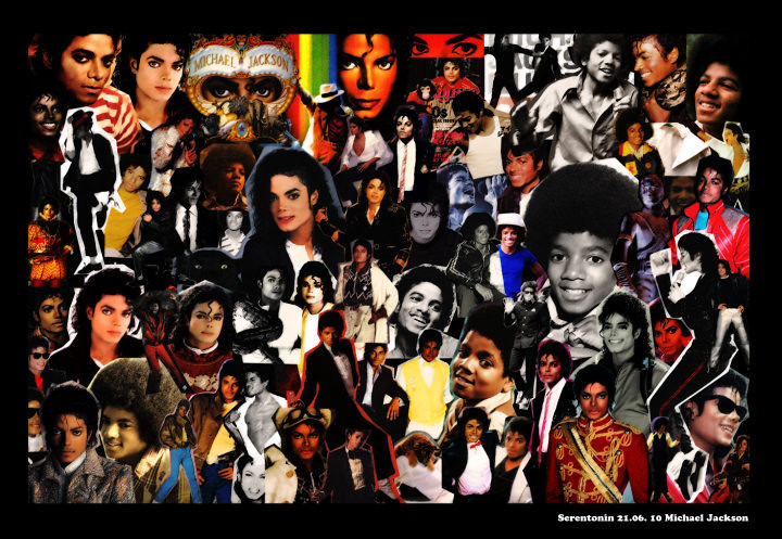 Digital Scrap Book - Michael Jackson