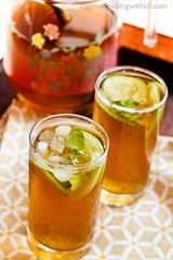 Ginger and Honey Iced Tea III (Sirime) Tags: green recipe ginger tea cucumber honey foodphotographyrecipes