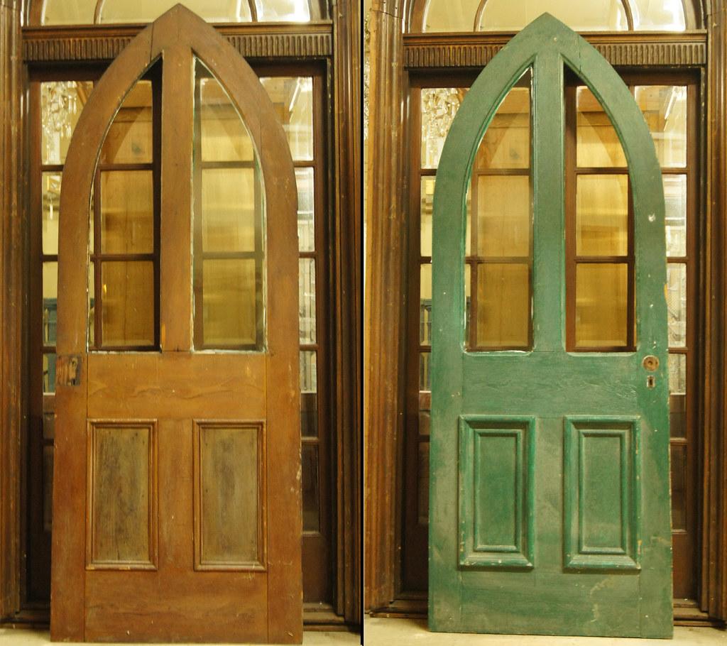 Arched Door 1803 (Sold (The Door Store) Tags: Vintage Salvage Antique  Doorstore - Doors Store Toronto & Modern-door-store-toronto