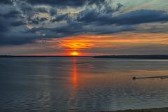 On the water (Kansas Poetry (Patrick)) Tags: sunset waterskiing lawrencekansas clintonlake patrickemerson patricknancyexploretheriver