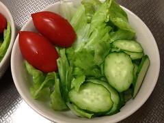 朝食サラダ(2011/11/7)