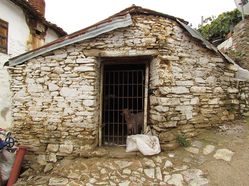 Local goat pen - Sirince architecture