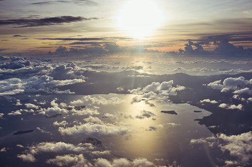 無料写真素材, 自然風景, 空, 雲, 朝焼け・夕焼け, 雲海